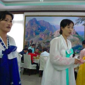 朝鮮民主主義人民共和国の今 73 (開城 板門店と統一館)