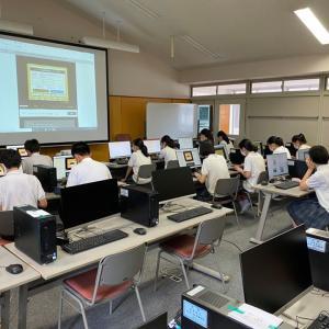 東京中高情報 109 (【 PC실의 정비완료】(PC室の整備完了))