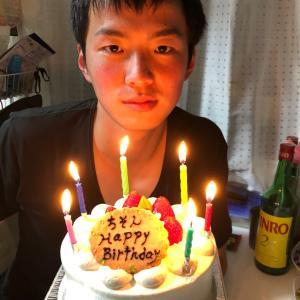 長男智成 本日24歳の誕生日 2 (チソンの懐かしい写真②)