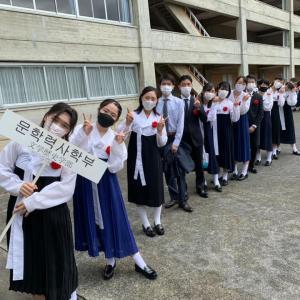 朝鮮大学情報 31 (文学歴史学部の入学生13名の紹介)
