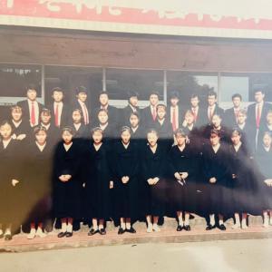 懐かしい写真 46 (32年前 高3の時 同級生11名 東日本芸術競演大会重唱に参加)
