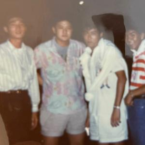 懐かしい写真 57 (29年前 東京第4同級生たちと)