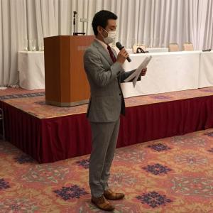 ウリ民族フォーラム in 東京 足立 22 (総会で決意表明をするスンジャン会長・MVM賞は?)