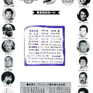 懐かしリーズ130 世界オープンタッグ選手権大会
