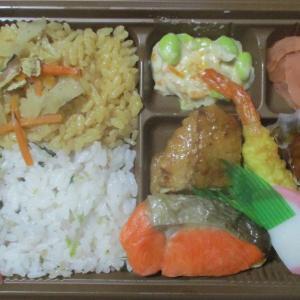 サラメシ 鶏めしと梅しらすの二色御飯幕の内弁当