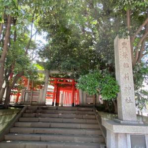 豊栄稲荷神社の庚申塔群
