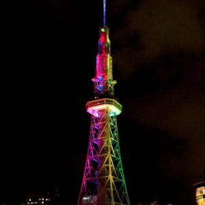 新生「名古屋テレビ塔」オープン