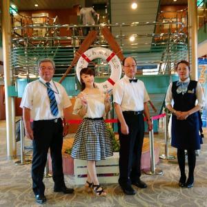 船上コンサート日本海◆舞鶴ー小樽◆2019年8月25日