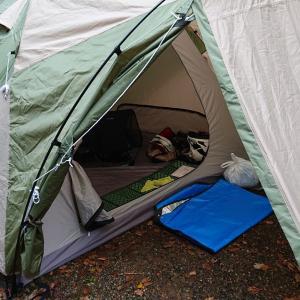 今年最後のキャンプ。