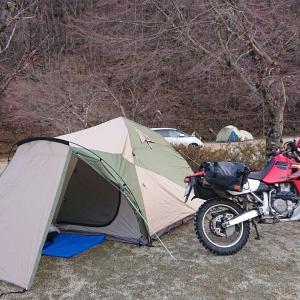 今年初キャンプ。