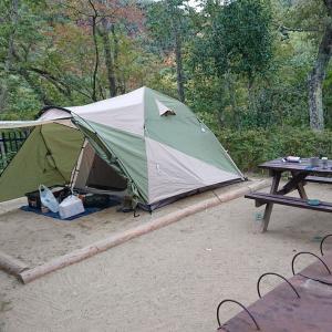 清和県民の森キャンプ場に行ってきた。