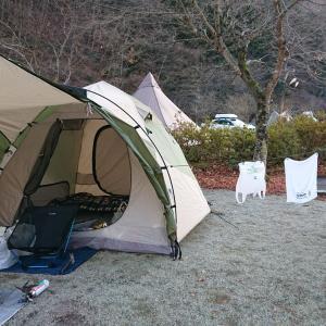 冬キャンプ。