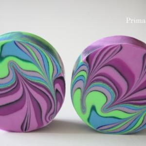 ●New circle swirl soap!