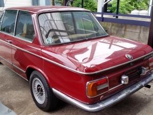 BMW 2002tii入庫です!