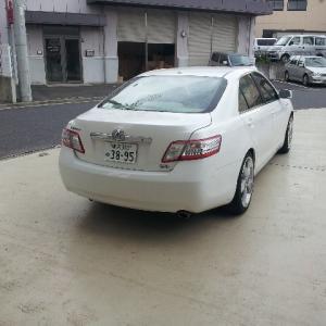 10y Camry Hybrid予備検査完了!!
