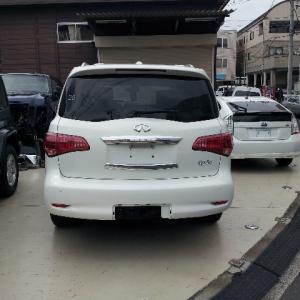インフィニティQX56予備検査完了!!