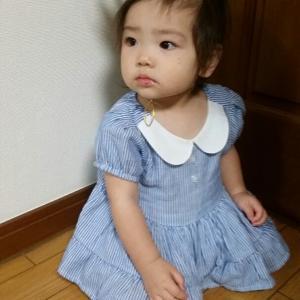 手足口病と1才のお誕生日