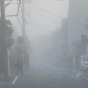 霧が発生するところ