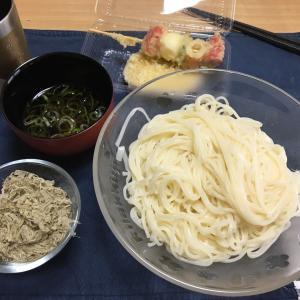 本日の おうち麺 半田麺0円(自宅自炊 某町吹田市大阪府)