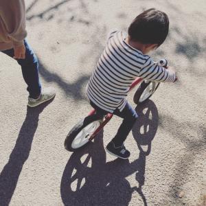 バランスバイク。