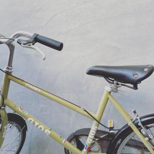 新しい自転車。
