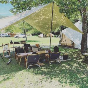 夏休みキャンプ2日目。