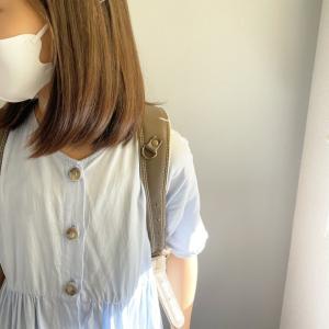 久々の登校と不足がちな不織布マスク。