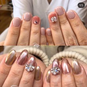 爪はこんな風に綺麗に変化していくんです!