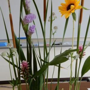 お花の教室再開いたしました(^^)