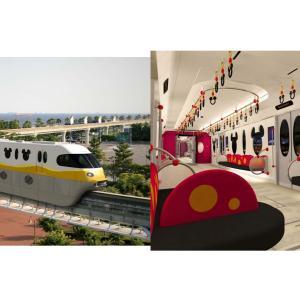 2020年春、ディズニーリゾートラインに初めて新型車両が登場!ロングシート採用で車内空間が広い