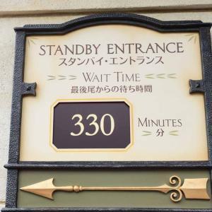 TDSソアリンのファストパス取得は、1時間の開園待ちが必須!オープンから1ヶ月間の待ち時間を分析