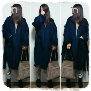 今冬、買って良かった、お気に入りのコートとバッグ♡