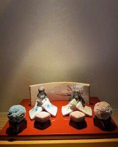 ☆笠間焼の雛人形飾り・ありがたいお客様☆