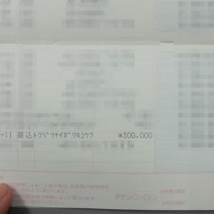 特別定額給付金が振り込まれました!