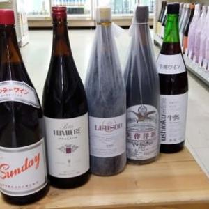 赤ワイン売れ行きランキング 一升瓶ワイン