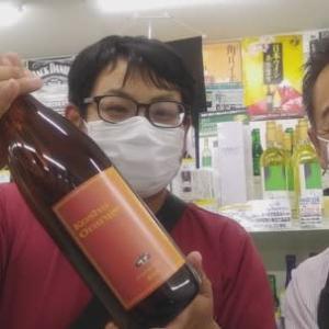 彼が醸造責任者です。