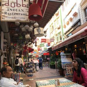 イスタンブール旧市街でインド料理♪