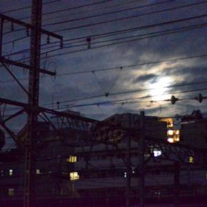 JR貨物【♫月夜の海に~】~満月のはず~