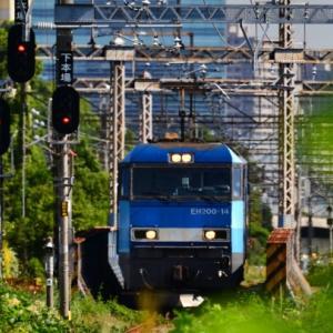 JR貨物【新塗装 EF210 EH200】~高島水際線公園~
