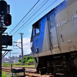 JR貨物【EF210-119】~激務の跡~