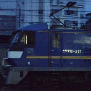 JR貨物【やっと見つけた反射角度】~EF210-311~