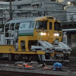 JR【キヤE195系】~ロングレール輸送車~