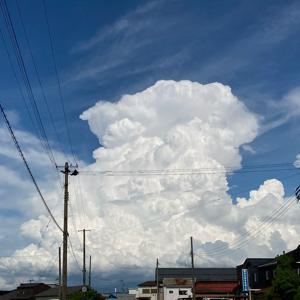 ソール・ライターみたいな入道雲