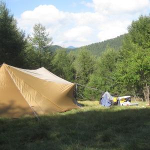 キャンプです。