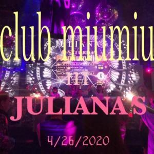 club miumiu in JULIANA'S 4/26 開催~!