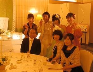 結婚式 披露宴 洋装 後編
