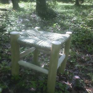 森の中で座りたくなる椅子作り(2020ゴールデンウィーク)