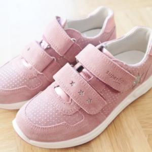 ドイツは接触禁止令&Superfit(スーパーフィット)の女児用・男児用の靴4足☆