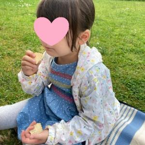 お庭でピクニック☆