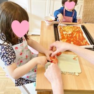 夫の実家帰省&子供達とピザ作り☆